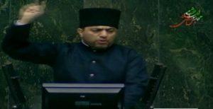 حضور نماینده اورمیه در مجلس با لباس ملی آزربایجانی