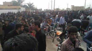 اعتراضات مردمی در احواز وارد سومین روز خود شده است