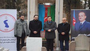برگزاری مراسم گرامیداشت رهبر فقید آزربایجان، محمدامین رسولزاده درآنکارا + ویدئو و تصاویر