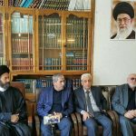 دیدار اعضای تشیکلات آزادی قره باغ و حزب اسلام آزربایجان با سیدحسن عاملی