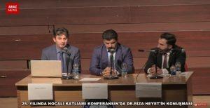 ویدئوی سخنرانی دکتر محمدرضا هیئت در دانشگاه قاضی آنکارا