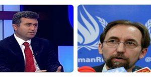 نامه بابک چلبیانلی خطاب به کمیساریای عالی حقوق بشر سازمان ملل در مورد احکام سنگین...