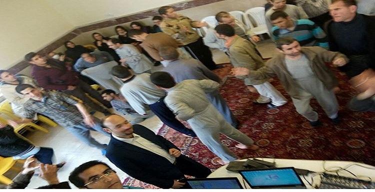 فعالین جامعه مدنی تبریز در مرکز توانبخشی شفا