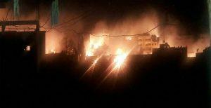 حمله با گاز فسفر به استان ادلب سوریه توسط رژیم اسد