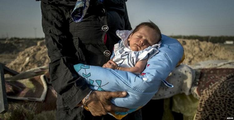 شناسایی ۷۸۰ نوزاد و کودک معتاد در ۹ ماهه اول سال ۹۵ ایران