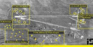 پنتاگون: در پایگاه الشعیرات سلاح شیمیایی انبار شده بود