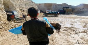 جتهای روسی عامل بمباران شیمیایی شهر خان شیخون سوریه بود