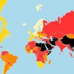 رتبه ۱۶۵ ایران از میان ۱۸۰ کشور در آزادی رسانه ها