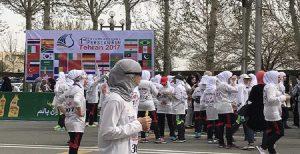 مسابقه بین المللی دوی ماراتن تهران با نام «پارس» برگزار شد!
