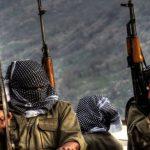 ایست بازرسی گروه تروریستی پ ک ک در سلیمانیه