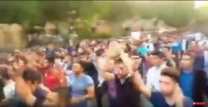 راهپیمایی در تبریز با شعارهای ملی + فیلم