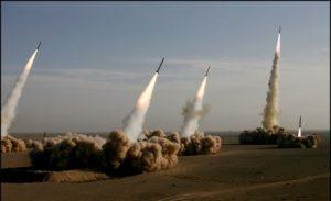 تنها یک موشک از هفت موشک پرتاب شده توسط ایران به اهداف مورد نظر برخورد...