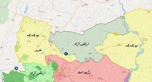 ترک عفرین سوریه توسط نیروی های روس