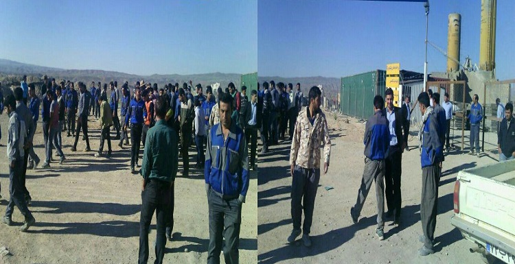 مردم زنجان در اعتراض به استخدام نیروی کار غیربومی اعتراض کردند