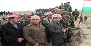بارزانی حکومت عراق را تهدید به استفاده از اسلحه کرد.