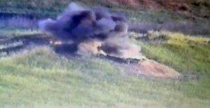 انهدام موضع نظامی ارمنستان توسط ارتش آزربایجان شمالی+ویدئو