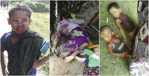 قتل عام حدود سه هزار مسلمان طى سه روز در میانمار