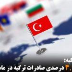 افزایش ۳٫۴ درصدی صادرات ترکیه در ماه فوریه