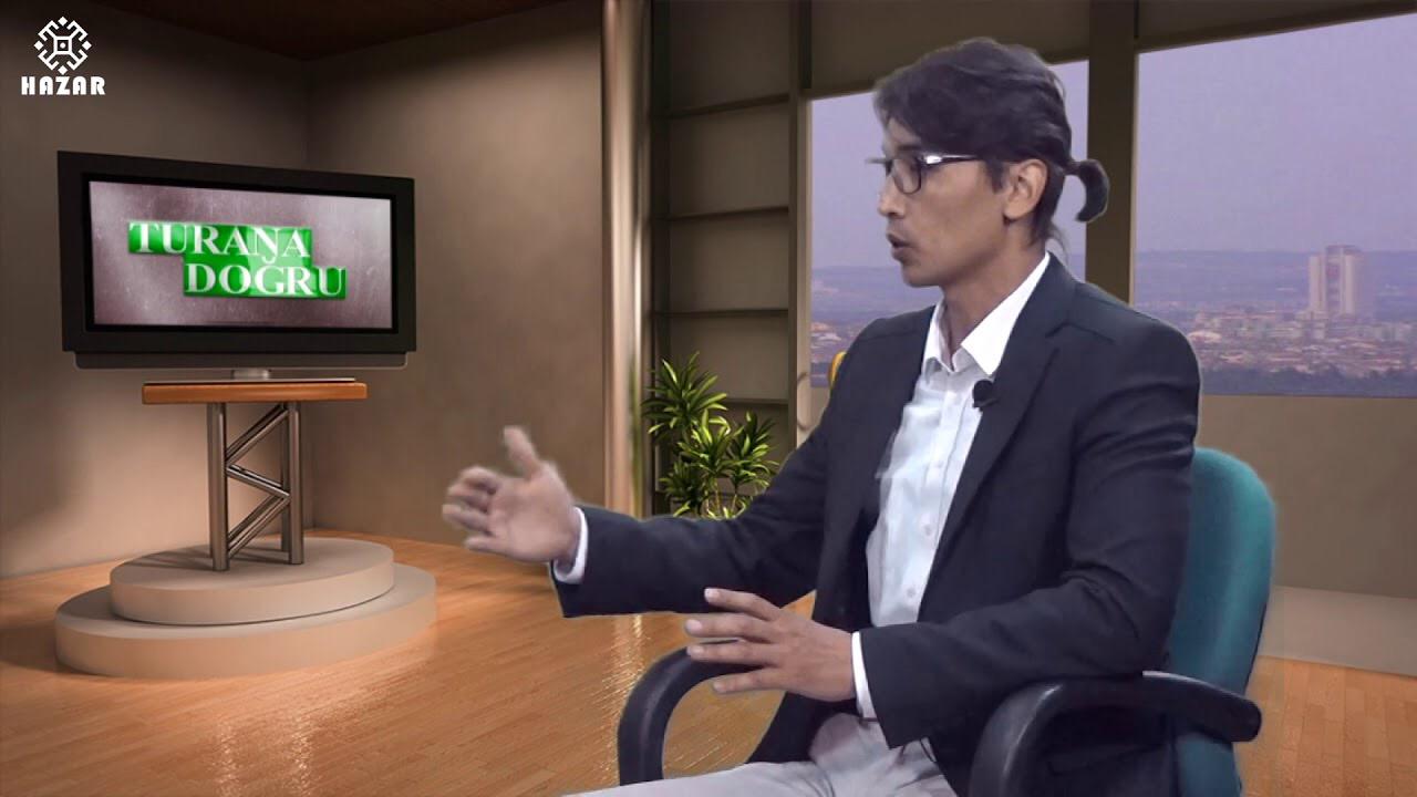 قزاق سیاست بیلیمجیسی آمان گلدی کالی بک ایله سؤیله شی