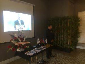 مراسم چهلم فعال ملی مرحوم عزیز پورولی در آنکارا برگزار گردید