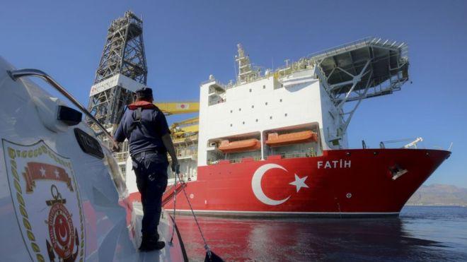 حمایت اپوزیسیون ترکیه از دولت بر سر منابع نفت و گاز قبرس