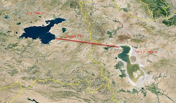 ترکیه میتواند دریاچه اورمیه را نجات دهد