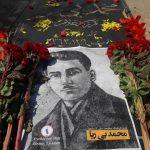 اهدا دستهگل و ادای احترام به رهبران فرقه دمکرات آزربایجان – تصاویر