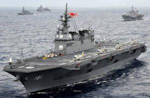 ژاپن به تنگه هرمز ناو جنگی ارسال می کند