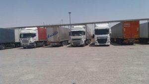 ورود کامیونهای ایرانی به عراق ممنوع شد
