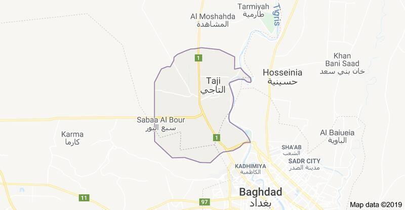 سه راکت به پایگاه ارتش آمریکا در بغداد شلیک شد