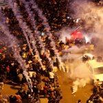 تظاهرات گسترده در لبنان برای سومین روز متوالی