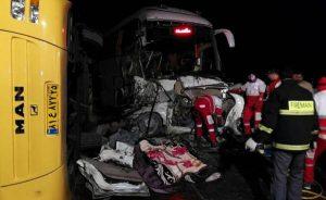 ۳ کشته و ۳۸ زخمی در تصادف آزادراه زنجان ـ قزوین
