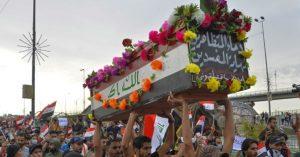 مرگ ۴۲ تن در اعتراضات روز جمعه مردم عراق