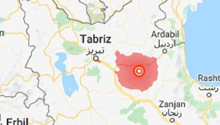 زلزلهای به بزرگی ۵.۹ ریشتر آزربایجان جنوبی را لرزاند