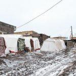 زلزله زدگان را در سرمای زمستان تنها نگذاریم