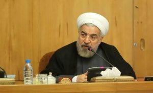 تشکر حسن روحانی از نهادهای مسلح و امنیتی به خاطر سرکوب مردم