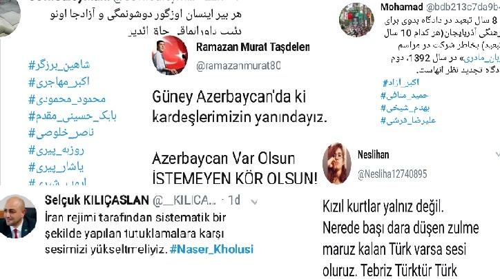 کاربران تورک در فضای مجازی به حمایت از زندانیان آزربایجانی پرداختند