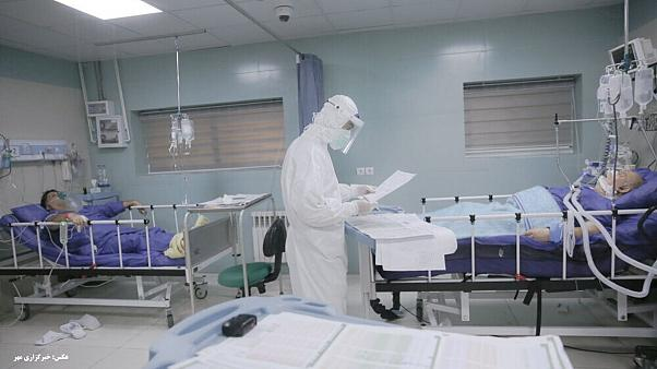 جان باختن ۱۲۸۴ نفر بر اثر ابتلا به ویروس کرونا در ایران