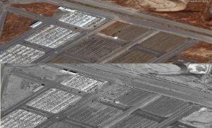 حفر گورهای بسیار در قبرستان معصومه قم برای قربانیان کرونا