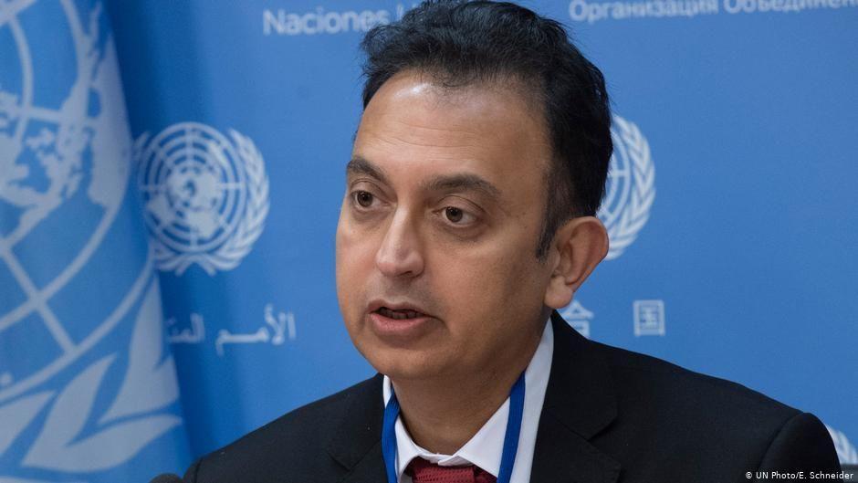 جاوید رحمان: زندانیان سیاسی و دوتابعیتی باید بدون تبعیض آزاد شوند