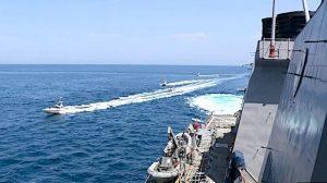 ترامپ: دستور دادهام هر قایق ایرانی که برای کشتیهای ما ایجاد مزاحمت کرد نابود شود