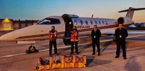 ارسال هواپیما برای بازگرداندن یک شهروند بیمار از سوئد به ترکیه + ویدئو