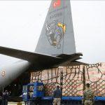 ترکیه دومین محموله کمکهای پزشکی را به متحدش آمریکا ارسال کرد