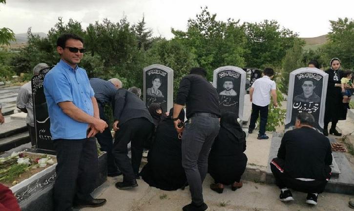 یاد و خاطراه شهدای قیام خونین خرداد ۱۳۸۵ در سولدوز گرامیداشته شد + ویدئو