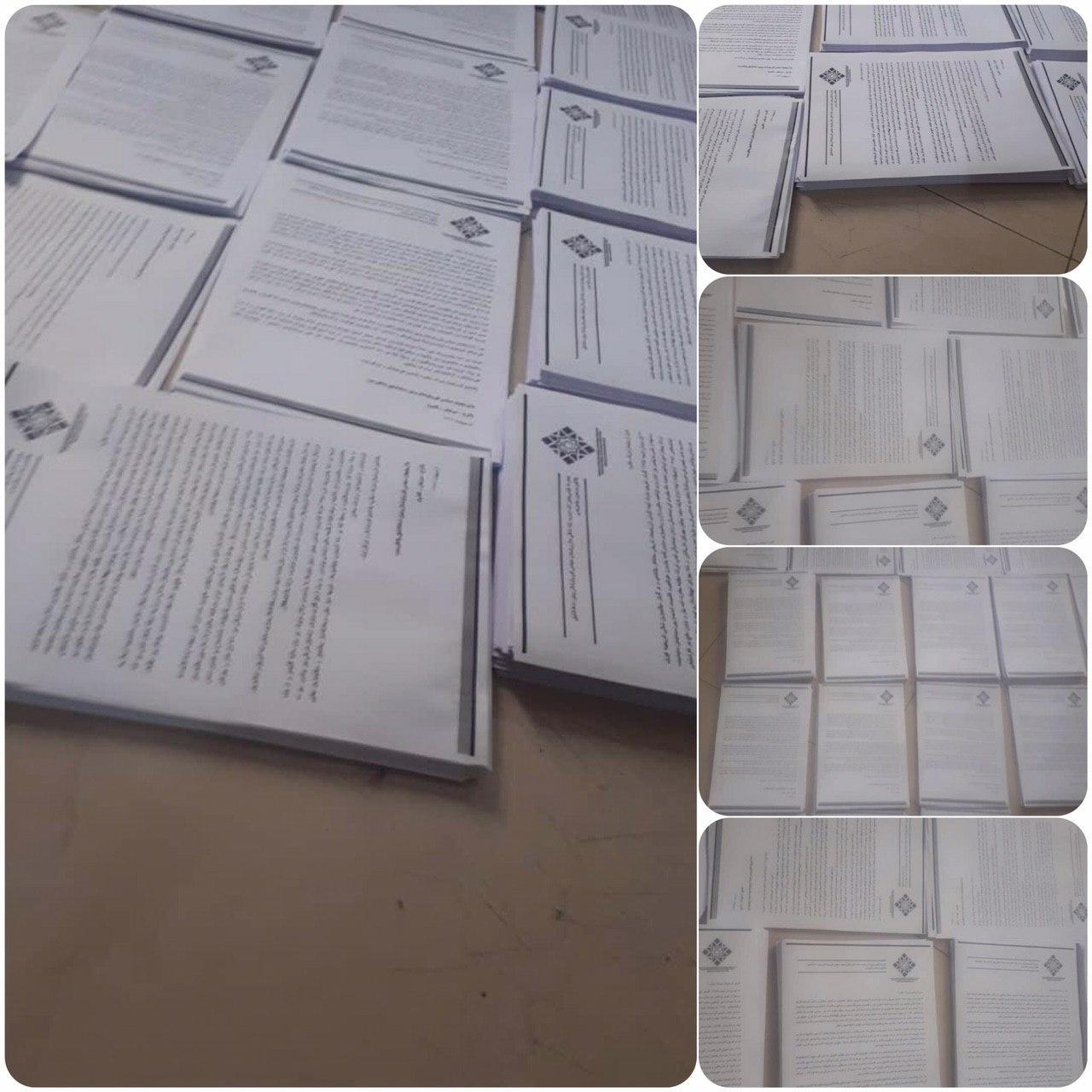 هزاران نسخه از بیانیه پلتفرم همکاری سازمانهای سیاسی آزربایجان چاپ شد