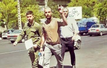 روزبه پیری فعال ملی آزربایجان از زندان مرکزی تبریز آزاد شد