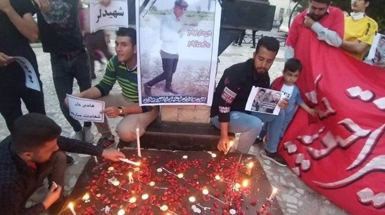 یاد و خاطره سربازان آزربایجانی قربانی تروریسم، در تبریز و قوشاچای گرامی داشته شد