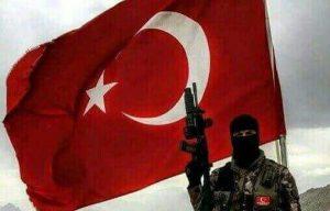 تسلیم شدن ۴ تروریست پ.ک.ک به نیروهای امنیتی ترکیه