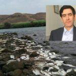 سونامی سرطان گوارشی و مرگ آبزیان آراز ناشی از پساب های صنعتی ارمنستان است