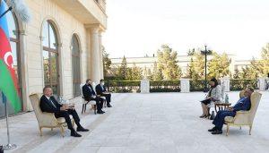 رئیس جمهور آزربایجان شمالی به سفیر جدید یونان: بدون شک در کنار ترکیه خواهیم ایستاد
